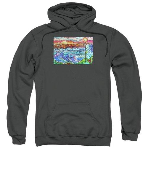 Mountains And Sea Sweatshirt