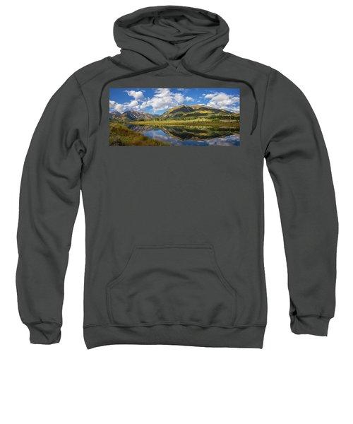 Mt. Elbert Autumn Reflection Sweatshirt