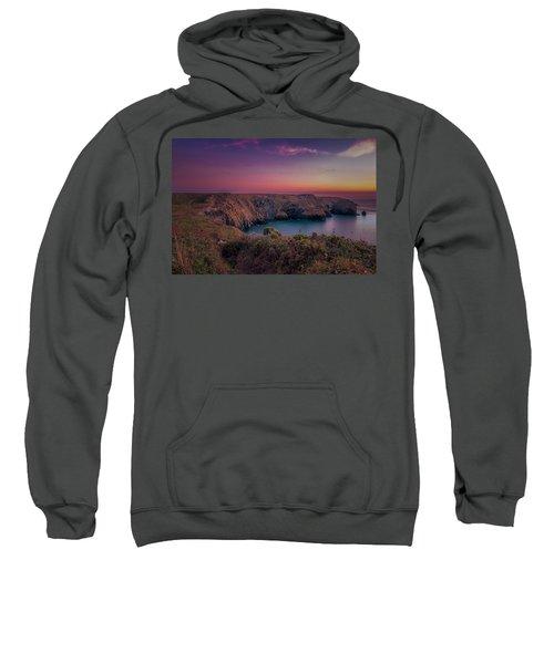 Mullion Cove Cornwall Sunset Sweatshirt