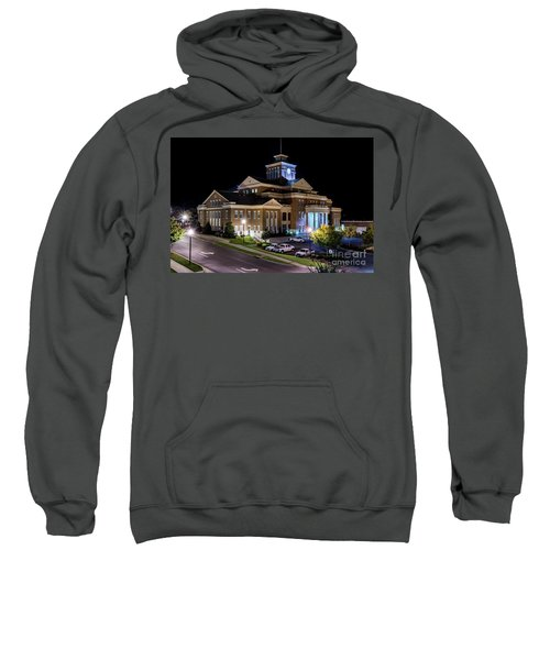 Municipal Center At Night - North Augusta Sc Sweatshirt