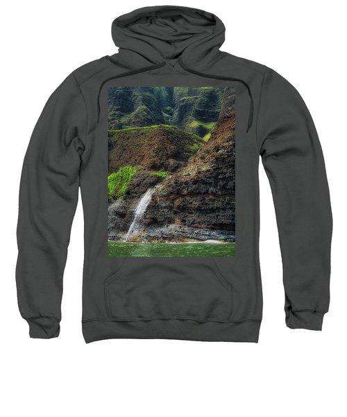 Na Pali Coast Waterfall Sweatshirt