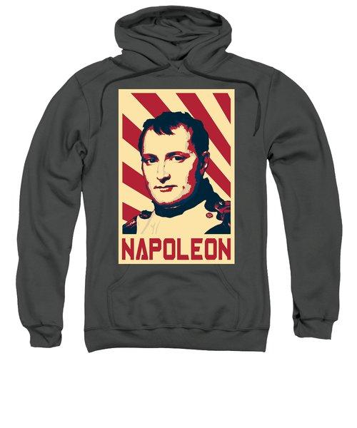 Napoleon Bonaparte Retro Propaganda Sweatshirt