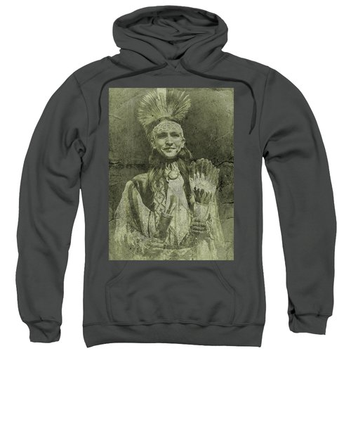 Native American Dancer Sweatshirt