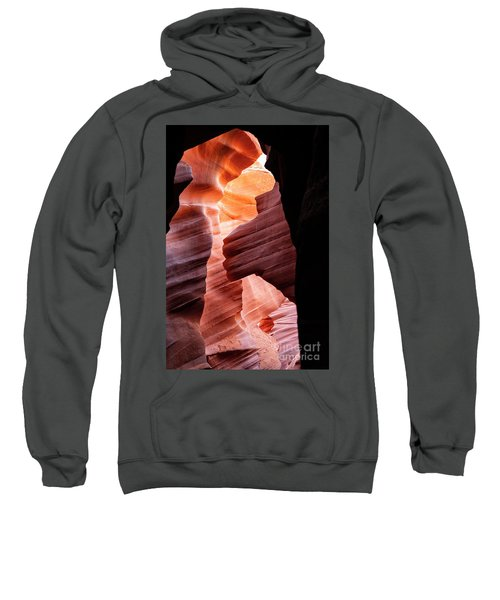 Sweatshirt featuring the photograph Natures Window by Scott Kemper