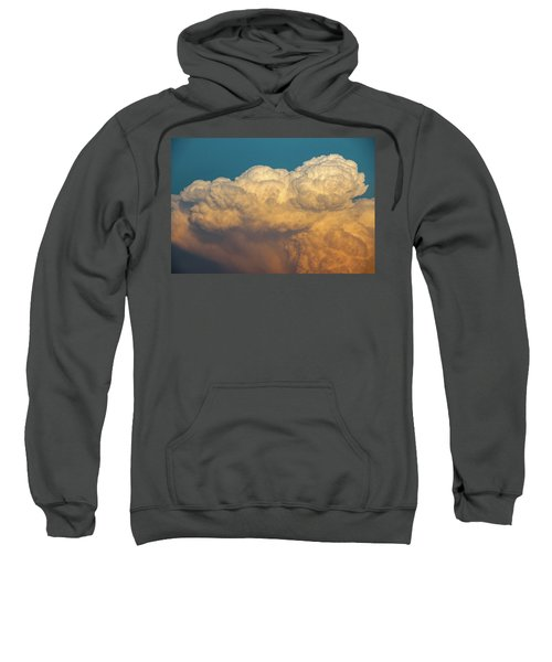 Nebraska Sunset Thunderheads 053 Sweatshirt