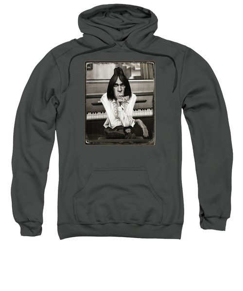 Neil Young Piano Sweatshirt