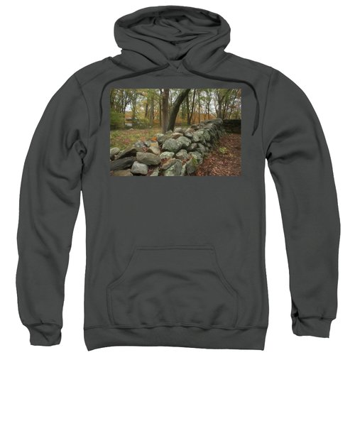 New England Stone Wall 1 Sweatshirt