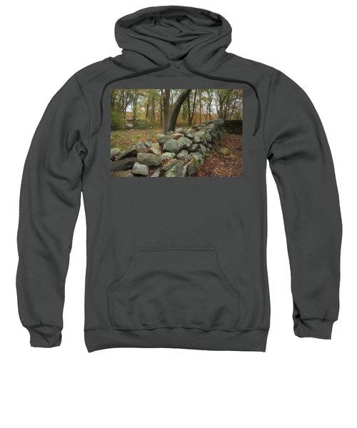 New England Stone Wall 1 Sweatshirt