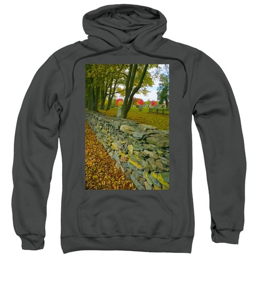 New England Stone Wall 2 Sweatshirt