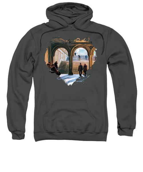 New York City Central Park Bethesda Terrace Arcade Sweatshirt