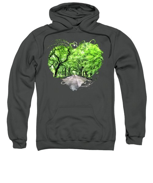 New York City Central Park Mall Sweatshirt