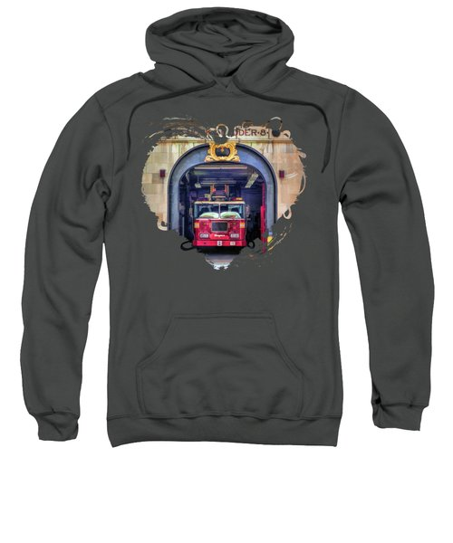 New York City Firehouse Company 8 Sweatshirt