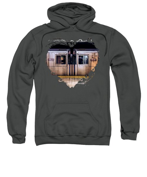 New York City Subway Cars Sweatshirt