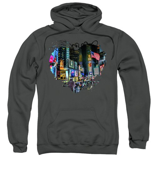 New York City Times Square Sweatshirt