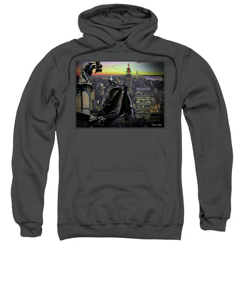 Night Of The Bat Man Sweatshirt