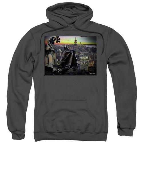Night Of The Bat Man Sweatshirt