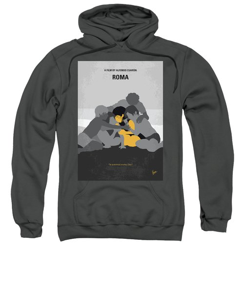 No1035 My Roma Minimal Movie Poster Sweatshirt