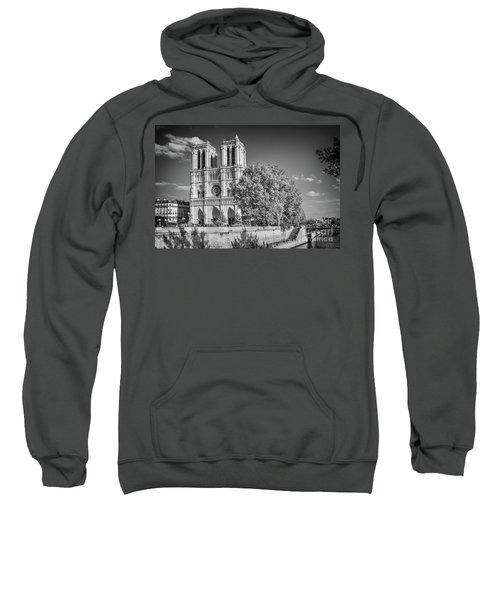 Notre Dame De Paris, Black And White Sweatshirt
