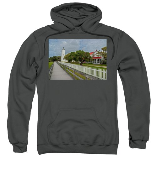 Ocracoke Lighthouse  Sweatshirt