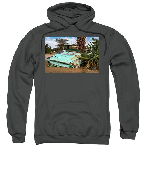 Old And Abandoned Car 2 In Solitaire, Namibia Sweatshirt