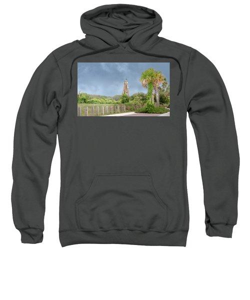 Old Baldy Lighthouse Bald Head Island Sweatshirt