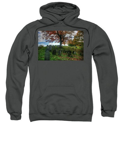 Old Hill Burying Ground In Autumn Sweatshirt