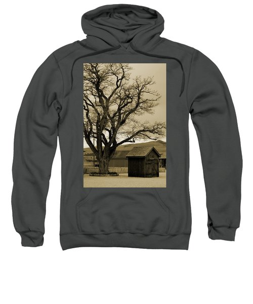 Old Shanty In Sepia Sweatshirt