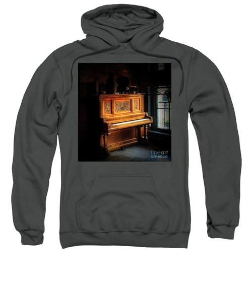 Old Wooden Piano Sweatshirt
