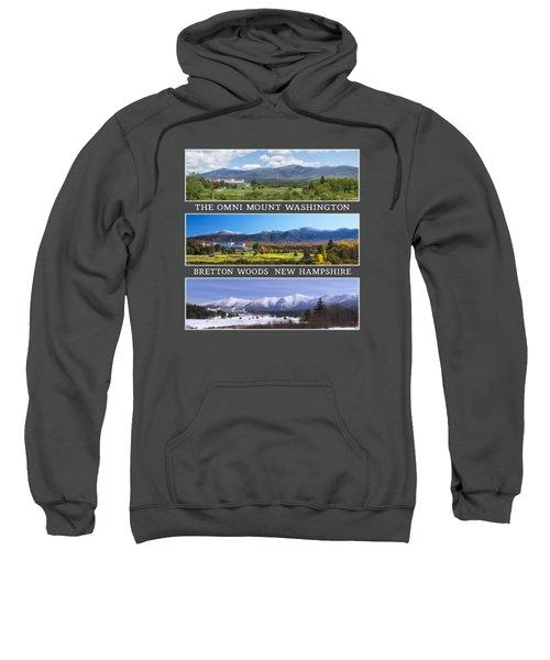 Omni Three Season Transparent Print Sweatshirt