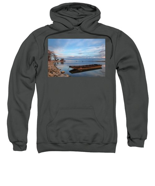 On The Shore Of The Lake Sweatshirt