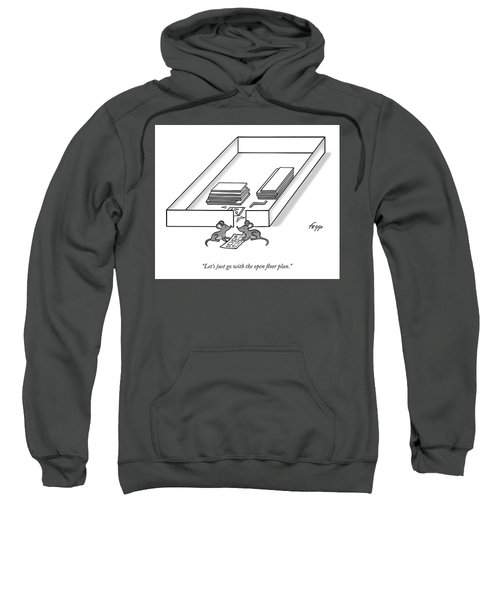 Open Floor Plan Sweatshirt