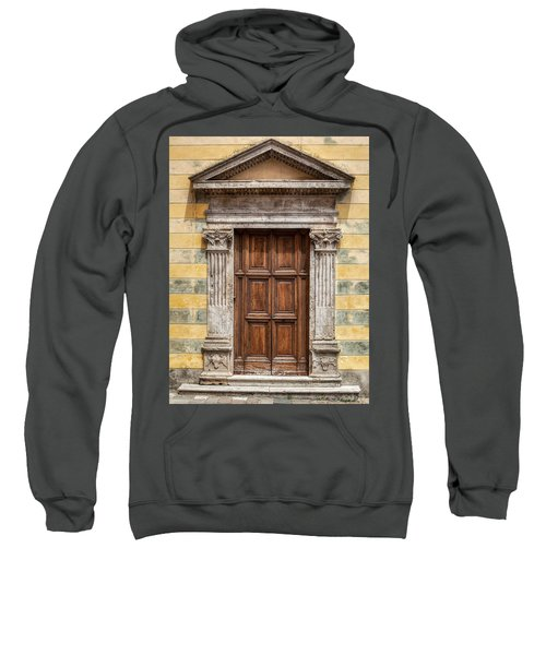 Ornate Door Of Tuscany Sweatshirt