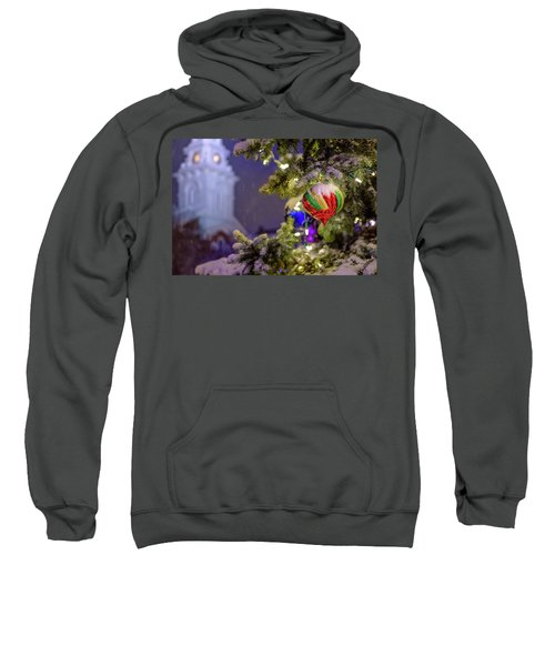 Ornament, Market Square Christmas Tree Sweatshirt