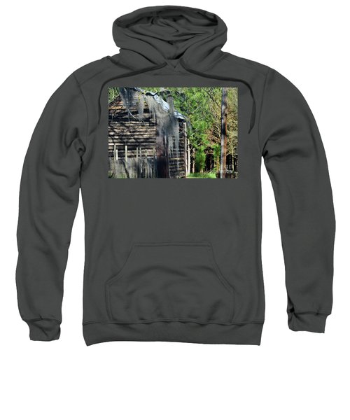 Out Behind The Woodshed Sweatshirt
