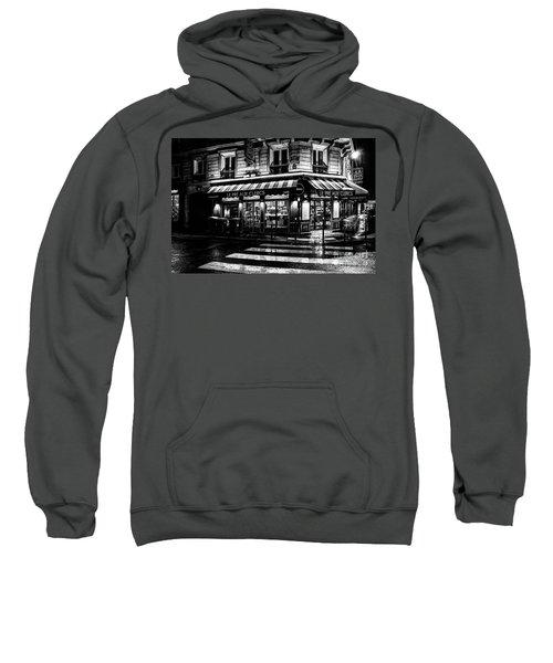 Paris At Night - Rue Bonaparte Sweatshirt