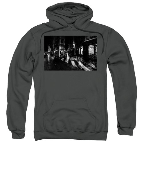 Paris At Night - Rue De Seine Sweatshirt