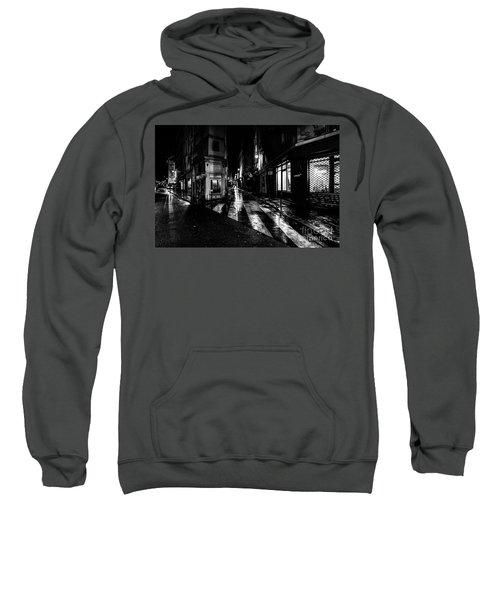 Paris At Night - Rue De Seine Sweatshirt