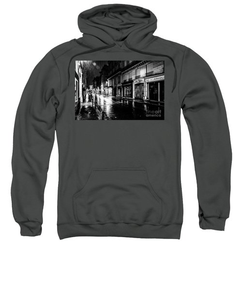 Paris At Night - Rue Saints Peres Sweatshirt