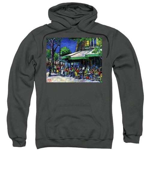 Parisian Cafe Sweatshirt