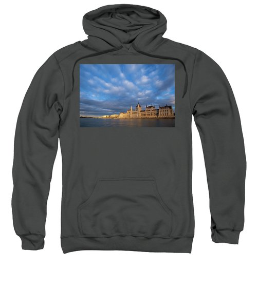Parliament On The Danube Sweatshirt