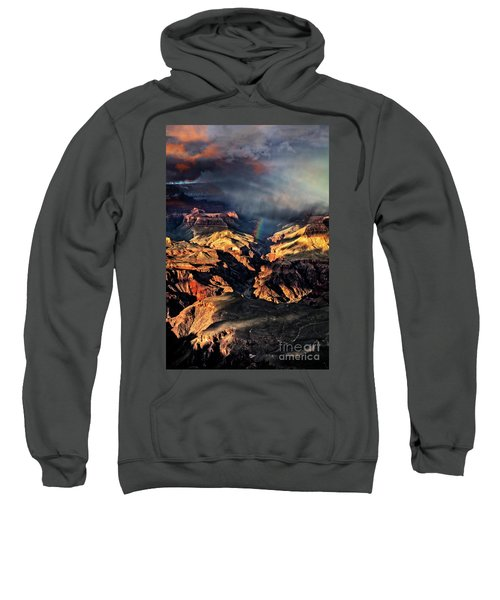 Sweatshirt featuring the photograph Passing Storm by Scott Kemper