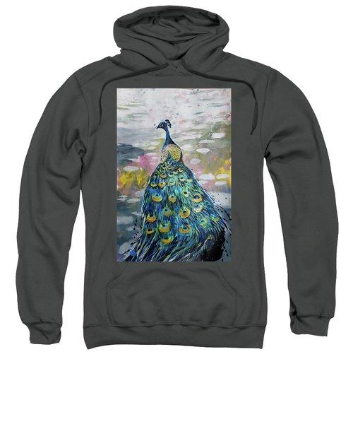 Peacock In Dappled Light Sweatshirt