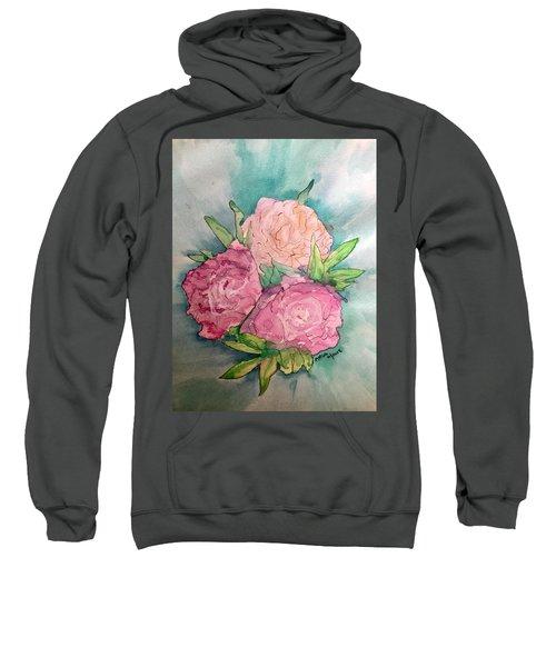 Peonie Roses Sweatshirt