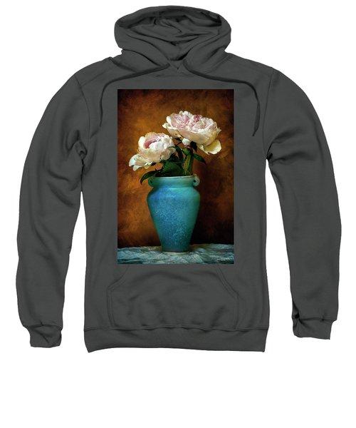 Peonies In Spring Sweatshirt