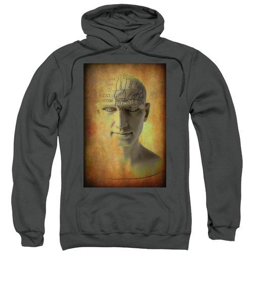 Phrenology Head Abstract Sweatshirt