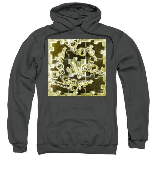 Piecing Puzzles Of A Crime Sweatshirt