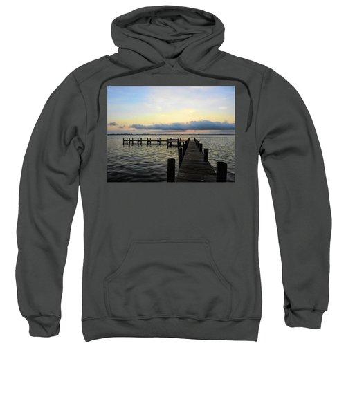 Pier Into Morning Sweatshirt