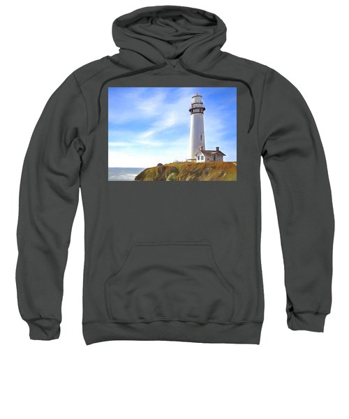 Pigeon Point Lighthouse Ca Sweatshirt