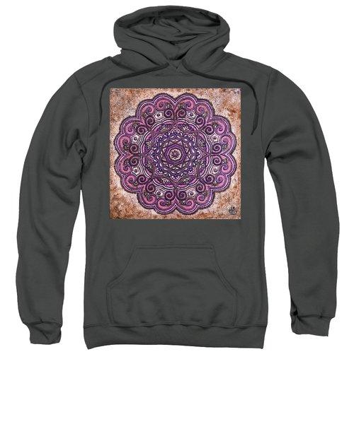 Pink Mandala Sweatshirt