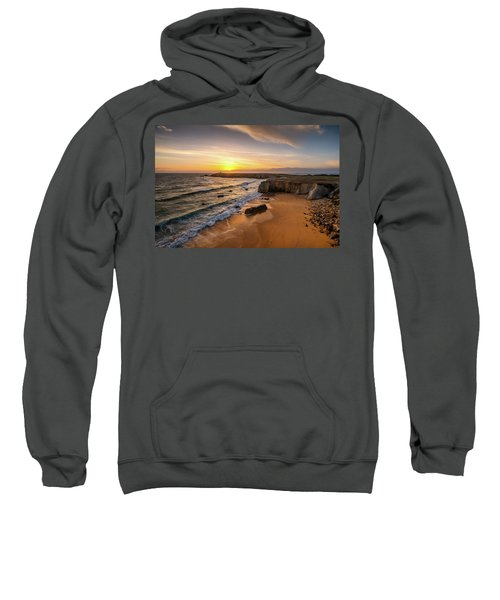 Pointe Du Percho And Port Blanc Sweatshirt